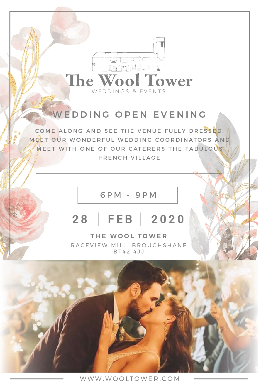 Wedding Open Evening February 2020